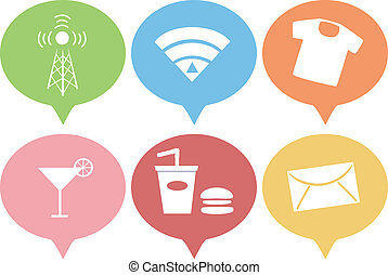 Business Icons - Illustration Featuring Various Business...