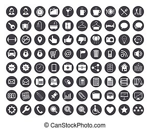 Business iconset - Vector style
