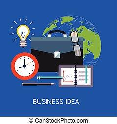 Business idea Concept Art
