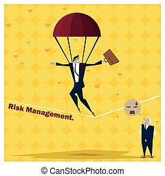 Business Idea series Risk Management concept 1