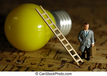 Business Ideas - Business Solutions Concept - Small Business...