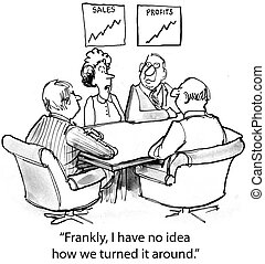 """Business Improvement - """"Frankly I have no idea how we turned..."""