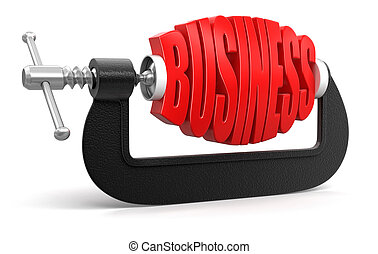 Business in clamp