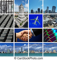 Business in Miami - comp of different business and...