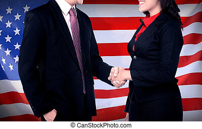 Business In USA Concept