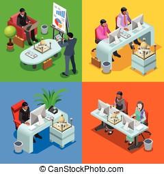 Business Indian 05 Isometric People - Indian isometric...