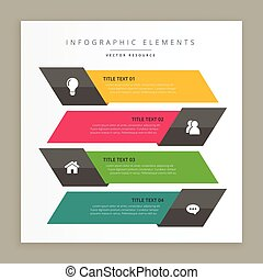 business infographic banners