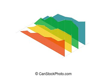 Business infographic diagram vector icon