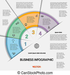 Business infographic for success project and other Your...
