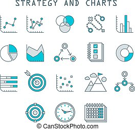 Business Infographic icons  Vector Graphics