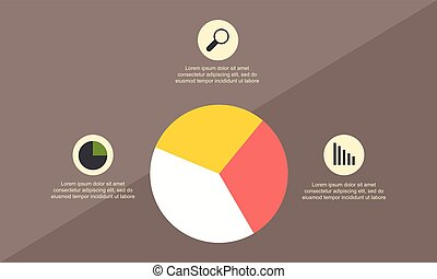 Business Infographic with diagram style