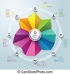 Business Infographics circle