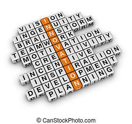 Business Innovation - New Business Innovation (3D crossword...