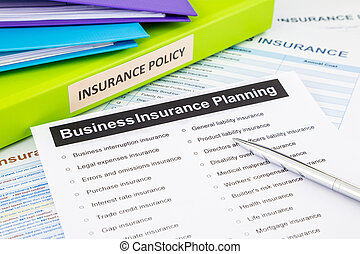 Business insurance planning checklist for risk management