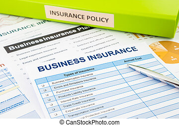 Business insurance planning for risk management