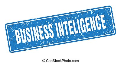 business inteligence stamp. business inteligence vintage ...