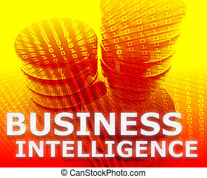 Business intelligence illustration - Business intelligence...