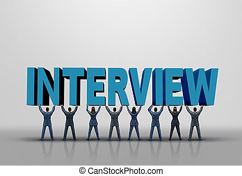 Business Interview Concept - Business interview concept and...