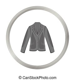 Business jacket icon of vector illustration for web and mobile