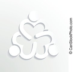 Business label white Logo design