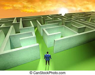 Business Labyrinth