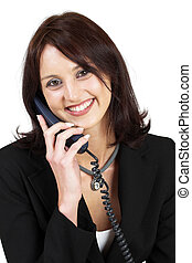 Business Lady #50 - Business woman on the telephone