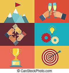 business leadership illustrations