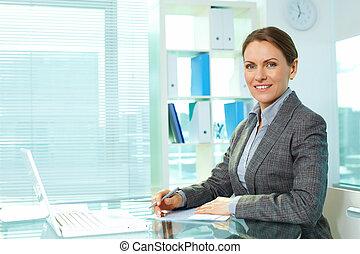 business, lieu travail