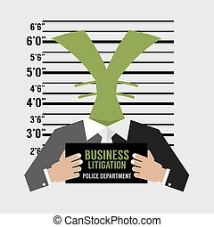 Business Litigation Concept. - Business Litigation Concept...