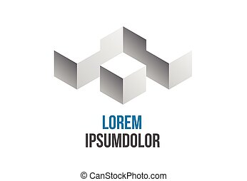 business logo abstract geometric icon design