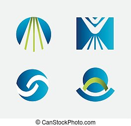 Business logo Icons Set