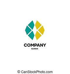 business, logo, simple, conception abstraite, compagnie, autre