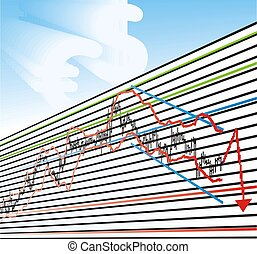 Business Loss Graphs - Trade Chart, professional, loss Graph...
