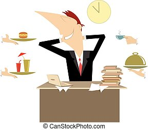 Business lunch Vector Clipart EPS Images. 13,717 Business ...