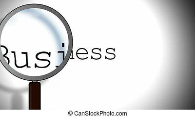 Business Magnifying Glass