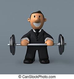 Business man - 3D Illustration