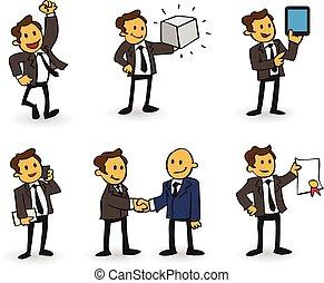 Business man cartoon