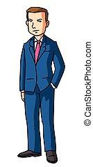 Business Man Coat