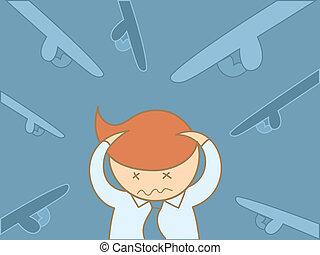 business man headache overloaded