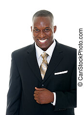 Business Man in Black Suit 1