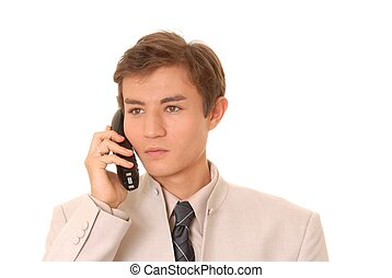 Business Man on Call 3
