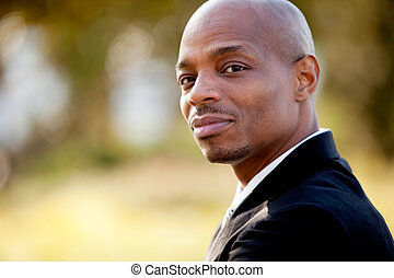 Business Man Portrait - A portrait of an African American ...