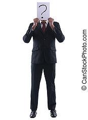 Business man question