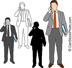 Business Man Style Set 10