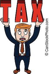 Business man tax
