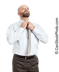 business man tie