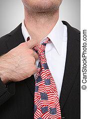 Business Man United States Tie