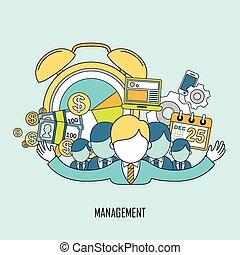 business management concept