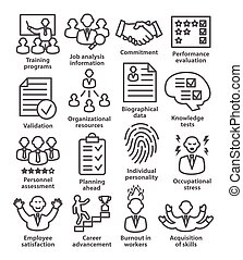 Business management icons in line style. Pack 23. - Business...