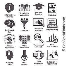 Business management icons. Pack 17. - Business management...